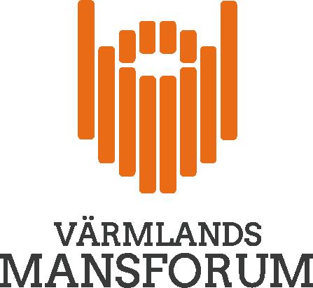Värmlands mansforum logotyp med skägg